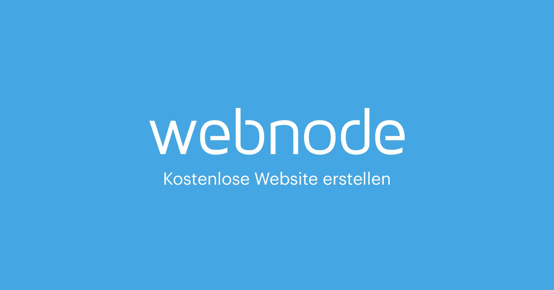 Erstellen Sie Eine Eigene Homepage Kostenlos Webnode